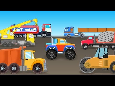 Monster Truck | Visit to Construction Site | Construction vehicle