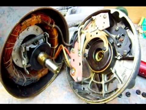 reversing split phase motor wiring diagram electronic door lock an induction ( century electric 1/4 horse ) - youtube