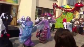 Луганск. Кукольный театр. Открытие театрального сезона 05.09.2015