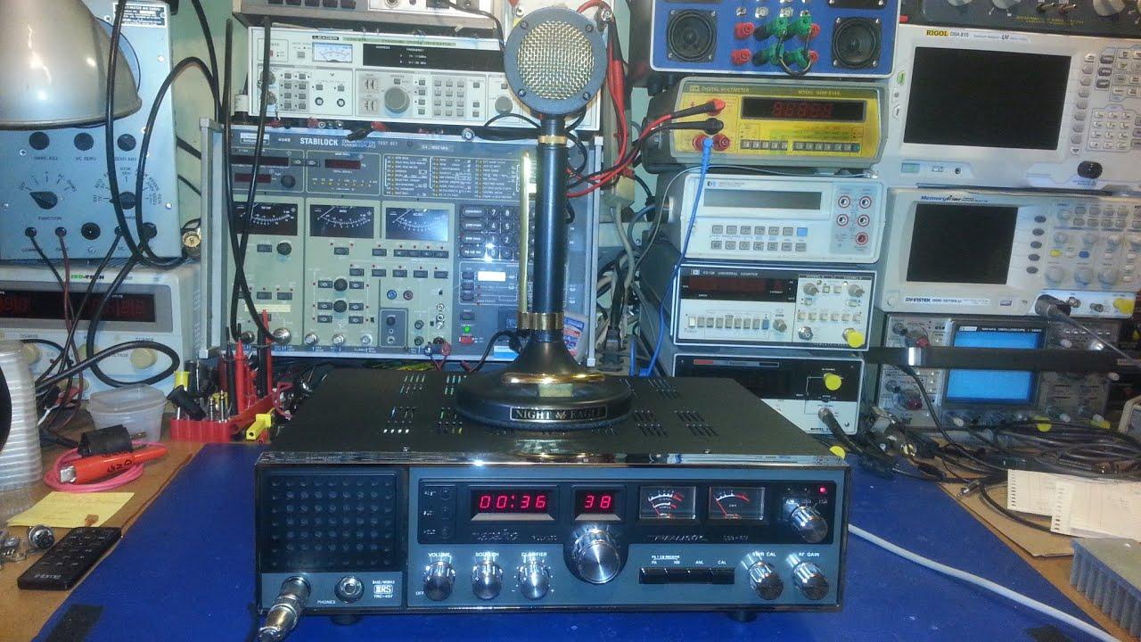 NOS Realistic Navaho TRC-457 AM / SSB CB radio. - YouTube