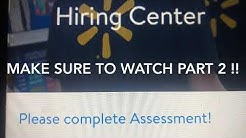 How to Pass the Walmart Hiring Assessment test  !