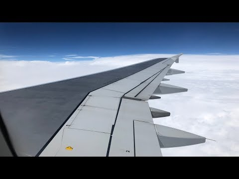 American Airlines   Full Flight   Charlotte To Orlando   Airbus A321-231