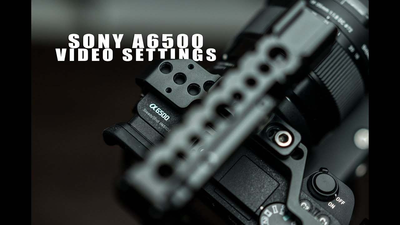 how to connect sony a6500