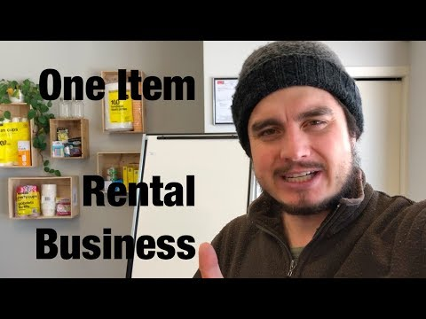 Easy Business Start - One Item - Growing Event Rental Business