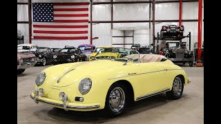 1957 Porsche Speedster Yellow