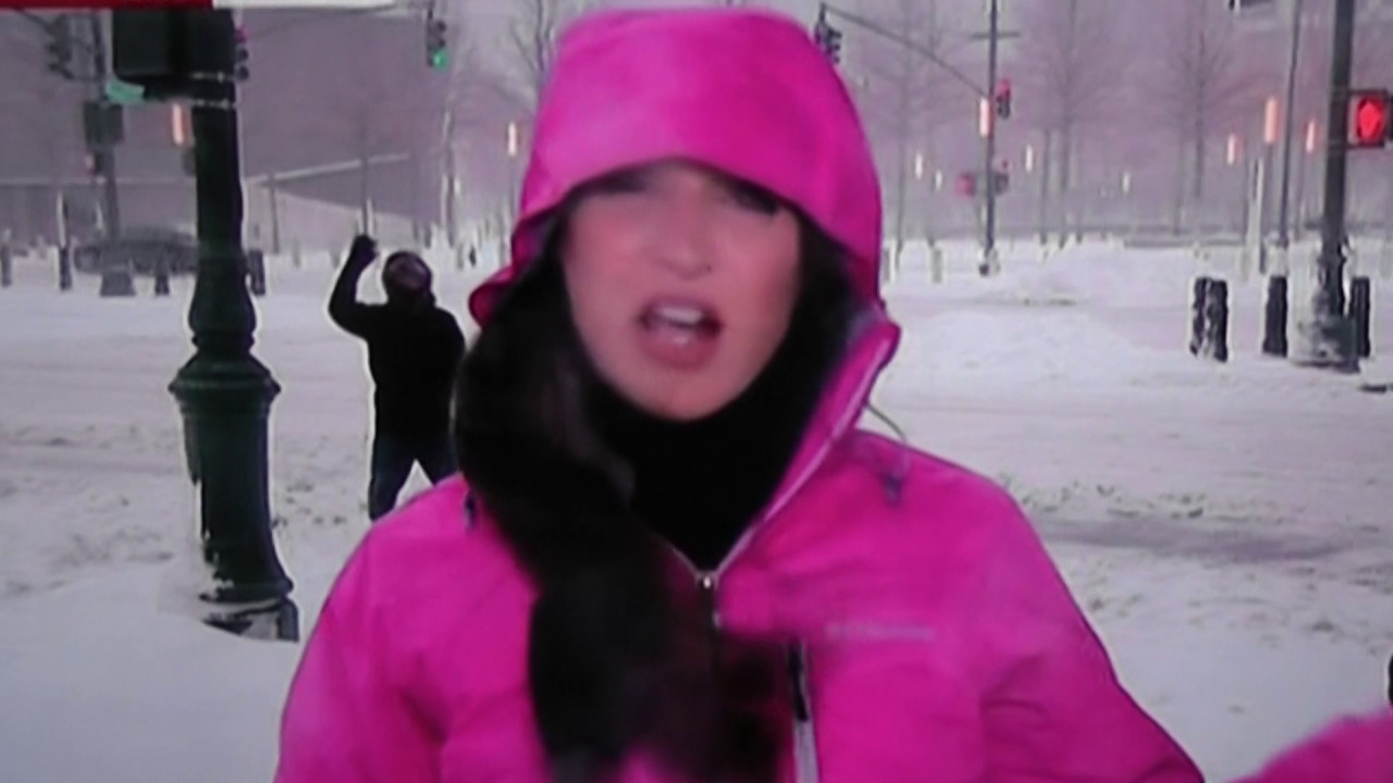Video Bomb Kid Brightens Up BBC Weather Report In New York YouTube - Nyc bbc weather