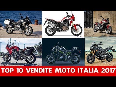 Top 10 Vendite Moto Italia 2017 | La Top 10 Delle Moto Più Vendute In Italia Nel 2017