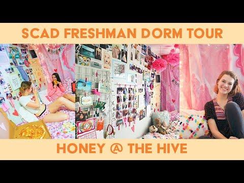 DORM ROOM TOUR // SCAD FRESHMAN