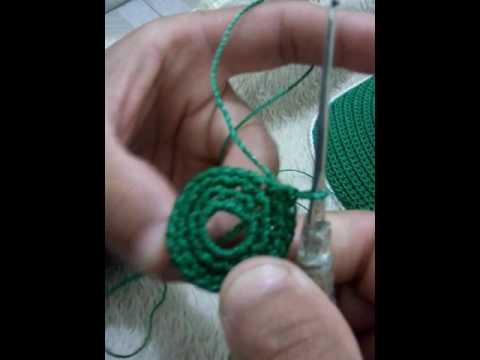 9b880c0ca2ce8 Ensinando Passo a Passo Bone De Croche - YouTube