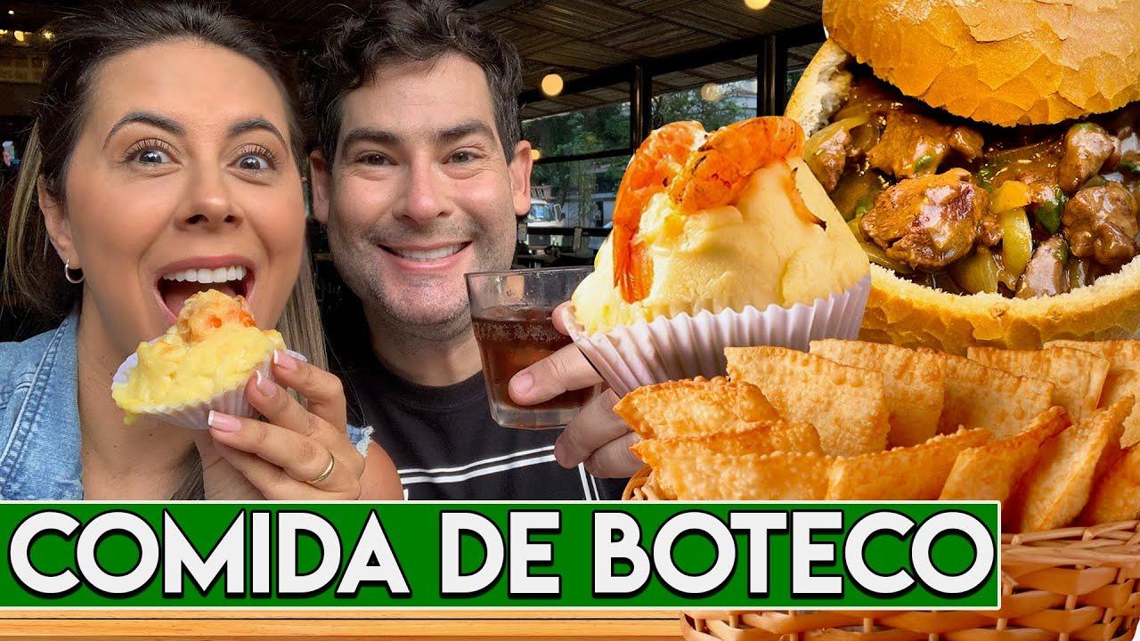 Comida de Boteco Raiz no Belmonte | Filet Aperitivo, Pastel, Empada e Muito Mais