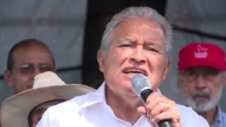 Salvador Sánchez Ceren Visita Nahuizalco