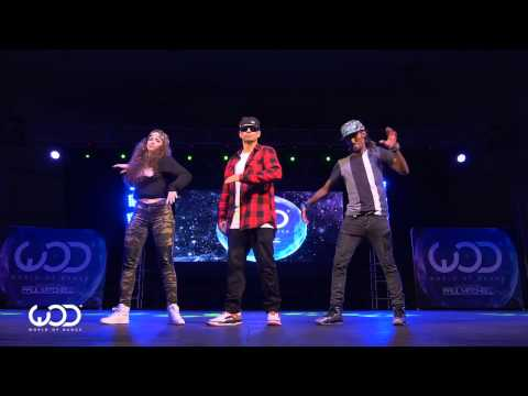 Nonstop, Dytto, Poppin John   FRONTROW   World of Dance Los Angeles 2015   #WODLA15