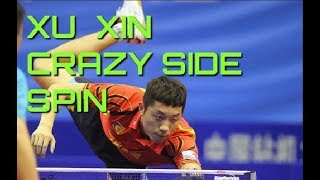 Xu Xin Crazy Side Spin 2017