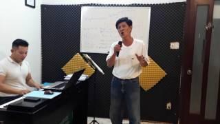 luyện thi thí sinh chương trình HÁT MÃI ƯỚC MƠ - BÀI KHÔNG TÊN SÔ 8 - ấm áp như ca sĩ Tuấn Ngọc