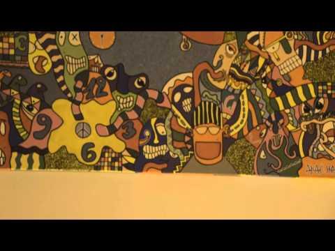 AKACHA-Parisian-Tunisian artist at OPEN Gallery in Louisville