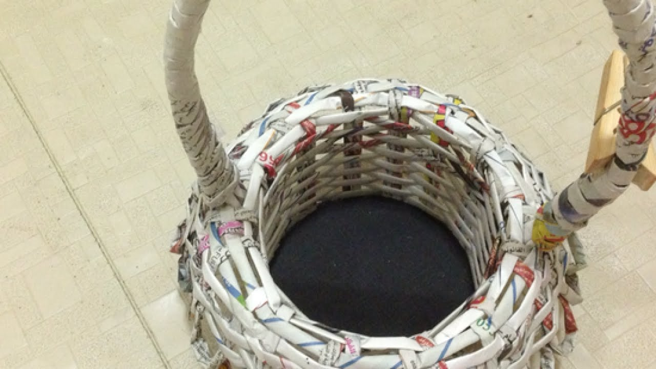pictures How to Make a Newspaper Basket