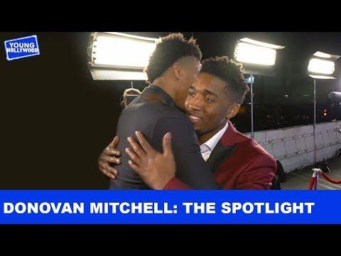 Donovan Mitchell Faces The Spotlight