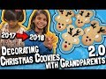 Decorating Christmas Cookies with Grandparents 2.0 // Yearly Family Traditions 2018