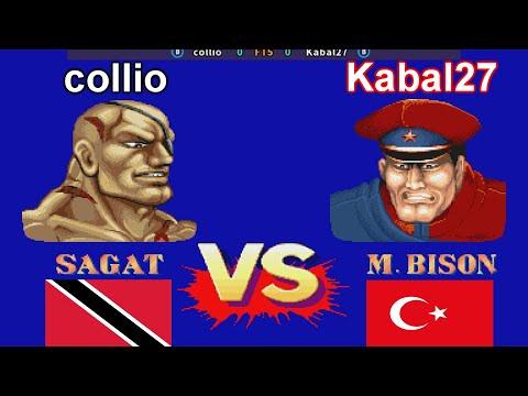 Street Fighter II': Champion Edition - collio vs Kabal27 FT5 |