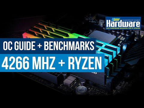 AMD Ryzen 3000 RAM-Overclocking | DDR4-4266 MHz auf X570 | How-To und Benchmarks