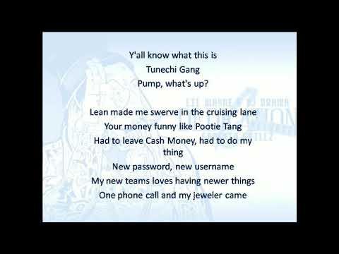 Lil Wayne - Groupie Gang (lyrics)