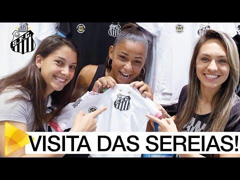 Sereias da Vila visitam a Santos Store São Bernardo