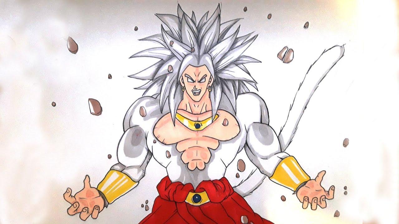 Goku Super Saiyan Para Colorear: Broly Para Colorear Dragon Ball Z Para Fotos De Broly Para
