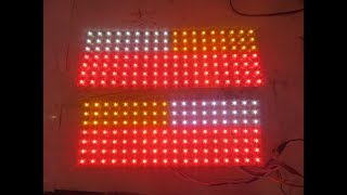 LED - Бегущий поворотник, габарит+ стоп в задних фарах ВАЗ 2109-2114