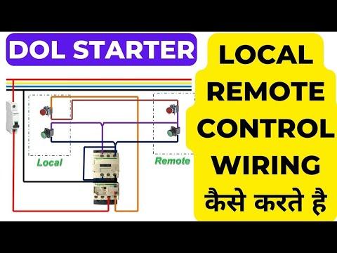 Dol Starter Control Circuit Diagram | Dol Starter Control Circuit Diagram Tvaction Info