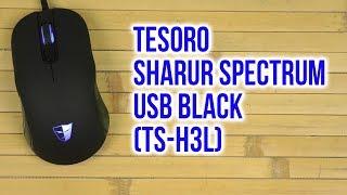 Розпакування Тесоро Шарур спектру USB чорний МС-H3L