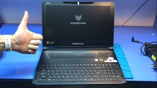 Ремонт ТОПОВОГО ноутбука Acer Predator Triton 700. Умер спустя год использования...