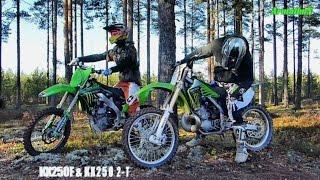 KX250F 4-Stroke & KX250 2-Stroke DirtBike FMF War Machines