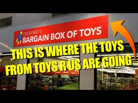 Geofrey's Bargain Box Of Toys? WHAT? They Are Selling Toys R Us Toys Here!!!