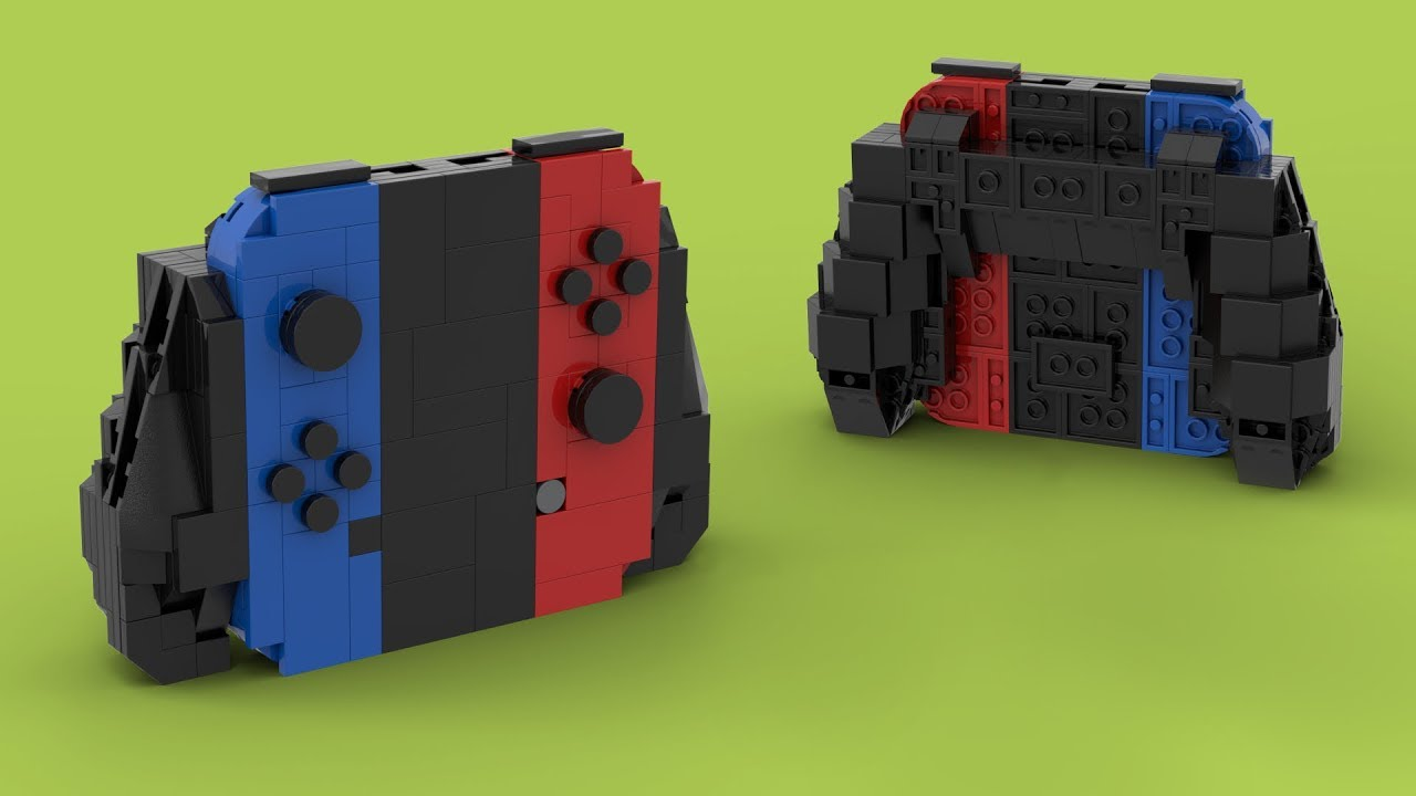 Lego Nintendo Switch Lite Moc Youtube