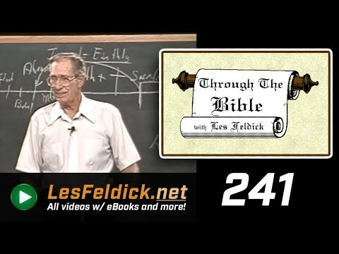 [ 241 ] Les Feldick [ Book 21 - Lesson 1 - Part 1 ] Old Adam Crucified - Romans 3:19-22  a