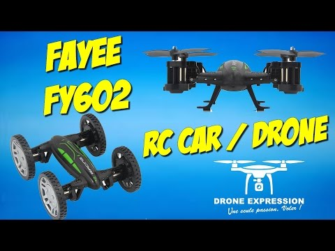 PRESENTATION UNBOXING REVIEW FLIGHT TEST FRENCH DRONE-RC CAR