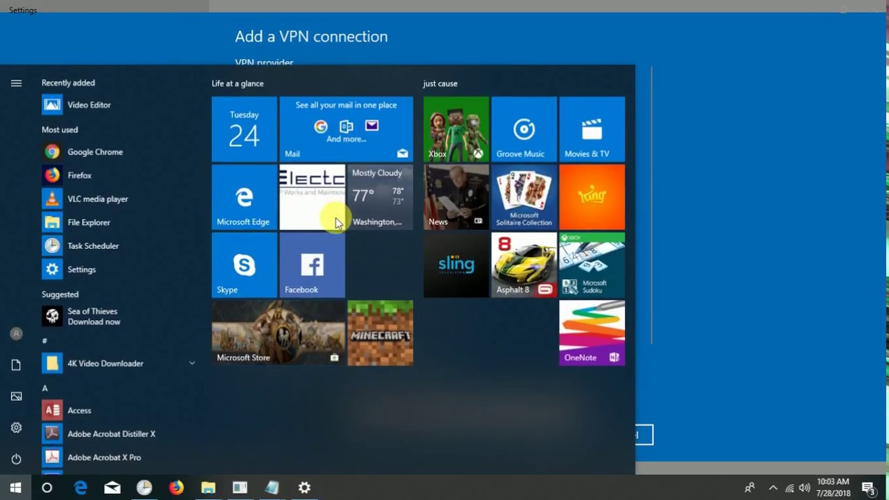 How To Setup a FREE VPN in Windows 10 100% working 2018