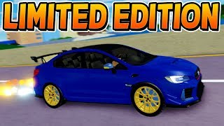 GET THE FREE LIMITED TIME CAR NOW! [Before it's too late] (Roblox Ultimate Driving!)