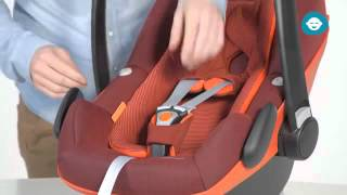 Maxi-Cosi Pebble Plus | How to install the car seat