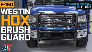 2009-2014 F150 Westin HDX Black Brush Guard Review & Install