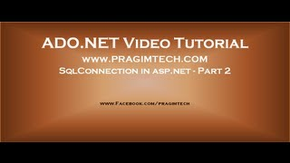 Gambar cover SqlConnection in asp.net - Part 2