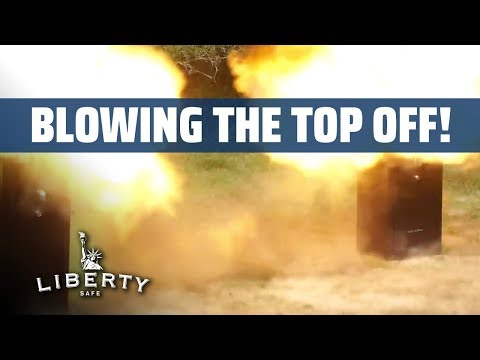 Blowing the Top Off Gun Safes