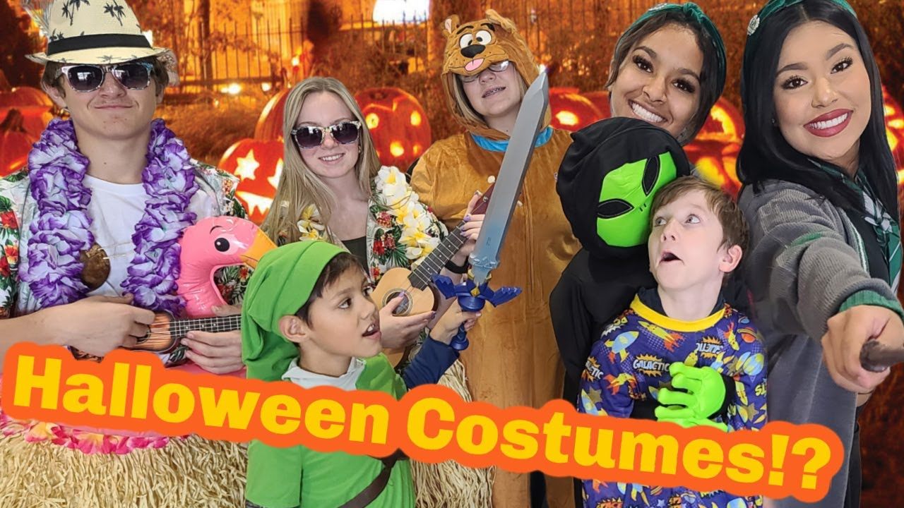 Buying Halloween Costumes For 12 Kids!