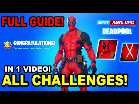 *All* DEADPOOL Challenges! How To Complete Every Challenge FULL GUIDE!