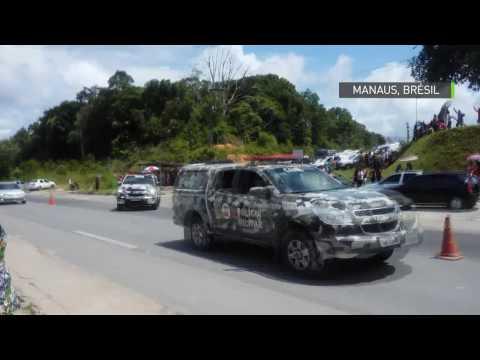 Après le massacre à la prison de Manaus, la police brésilienne poursuit les fugitifs