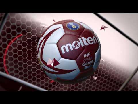 Molten Official Game Ball of the Qatar 2015 Men's Handball Championship