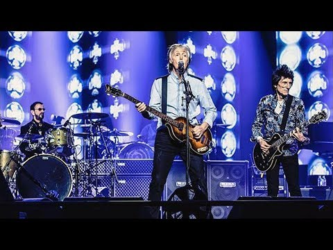 Ken Dashow - A Beatle Xmas Present In London: Paul, Ringo, & Ron Wood At The O2!!