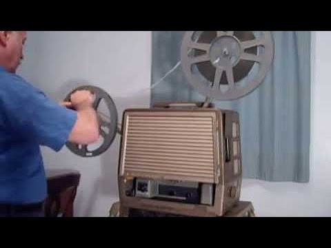 Bell & Howell FILMOSOUND 16mm Movie Film Projector