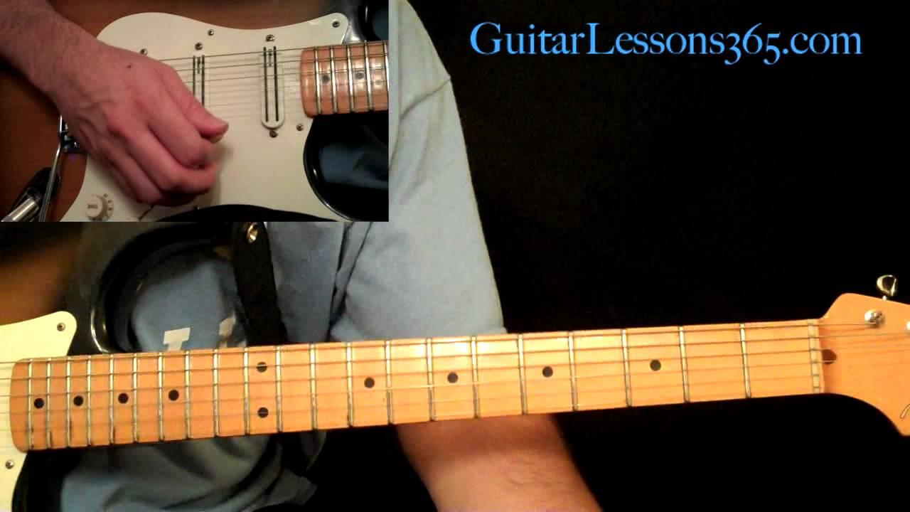 Stevie Ray Vaughan - Texas Flood Guitar Lesson Pt.3 - Guitar Solo
