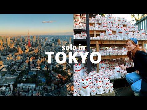 Taking Myself On A Solo Trip To Tokyo, Japan VLOG